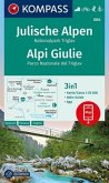 KOMPASS Wanderkarte Julische Alpen, Nationalpark Triglav, Alpi Giulie