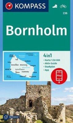 Kompass Karte Bornholm