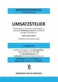 UMSATZSTEUERRECHT Dürckheim-Markierhinweise/Fußgängerpunkte für das Steuerberaterexamen Nr. 1859 (2018): Dürckheim'sche Markierhinweise