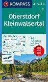 Kompass Karte Oberstdorf, Kleinwalsertal