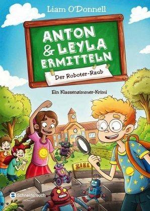 Buch-Reihe Anton und Leyla ermitteln