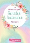 Spring in eine Pfütze - Schülerkalender 2018 / 2019