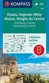 KOMPASS Wanderkarte Elsass, Vogesen Mitte, Alsace, Vosges du Centre