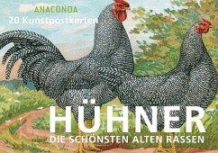 Postkartenbuch Hühner - Anaconda Verlag
