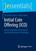 Initial Coin Offering (ICO) (eBook, PDF)