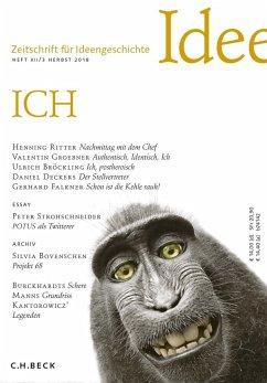 Zeitschrift für Ideengeschichte Heft XII/3 Herbst 2018