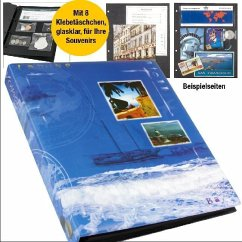 Kreativ-Alben Voyage für Fotos und Souvenirs