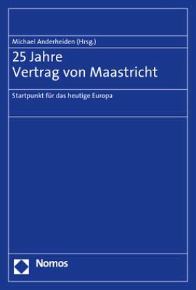25 Jahre Vertrag Von Maastricht Fachbuch Bücherde
