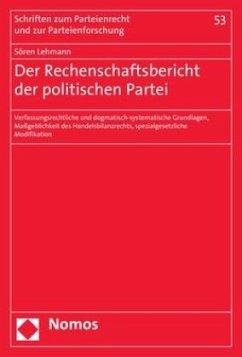 Der Rechenschaftsbericht der politischen Partei