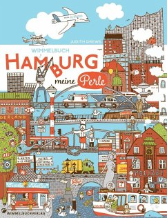 Hamburg Wimmelbuch. Hamburg meine Perle - Drews, Judith