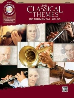 Easy Classical Themes Instrumental Solos, Clari...