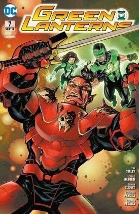 Buch-Reihe Green Lanterns