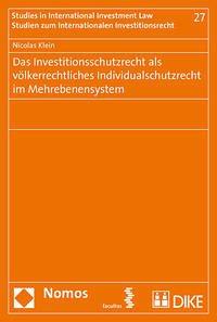Das Investitionsschutzrecht als völkerrechtlich...