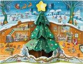 Weihnachten bei Familie Maus Pop-up-Adventskalender