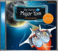 Der kleine Major Tom - Kometengefahr, 1 Audio-CD - Flessner, Bernd;Schilling, Peter