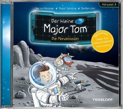Der kleine Major Tom - Die Mondmission, 1 Audio-CD - Flessner, Bernd; Schilling, Peter