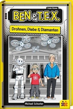 Buch-Reihe Ben & T.E.X.