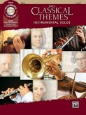 Easy Classical Themes Instrumental Solos, Flute, w. Audio-CD