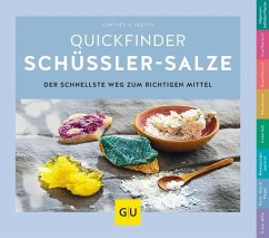 Schüßler-Salze, Quickfinder - Heepen, Günther H.