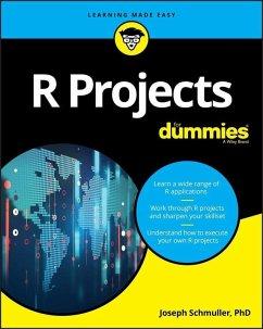 R Projects For Dummies (eBook, ePUB) - Schmuller, Joseph