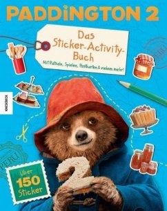 Paddington 2 - Das Sticker-Activity-Buch (Mängelexemplar)