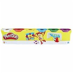 Hasbro C3898EU4 - Play-Doh, 6er Pack, Grundfarben, Knete