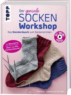 Der geniale Sockenworkshop - Jostes, Ewa; Linden, Stephanie van der