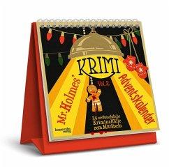 Mr. Holmes Krimi-Adventskalender 2 - Krömer, Philip; Ernst, Joseph Felix; Frenzel, Sebastian; Jacobi, Laura