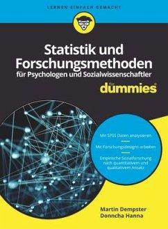 Statistik und Forschungsmethoden für Psychologen und Sozialwissenschaftler für Dummies - Dempster, Martin; Hanna, Donncha