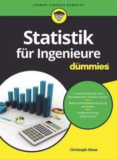 Statistik für Ingenieure für Dummies - Maas, Christoph