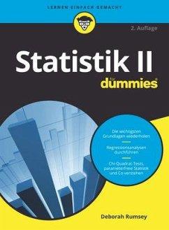 Statistik II für Dummies - Rumsey, Deborah J.