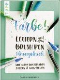 Farbe! Lettern mit dem Brush Pen Übungsbuch