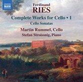 Werke Für Cello Vol.1-Cellosonaten