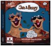 Jan & Henry - 10 lustige Miträtsel-Geschichten, 1 Audio-CD
