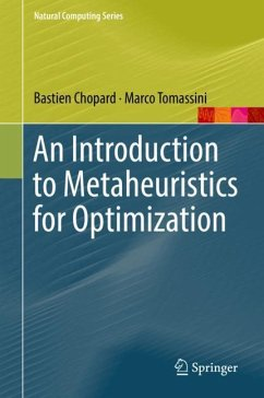 An Introduction to Metaheuristics for Optimization - Chopard, Bastien;Tomassini, Marco