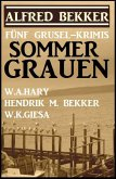 Sommer-Grauen: Fünf Grusel-Krimis (eBook, ePUB)