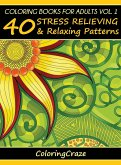 Coloring Books For Adults Volume 1