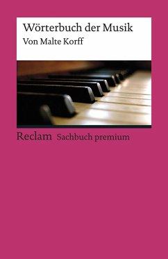 Wörterbuch der Musik - Korff, Malte