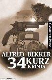 34 Kurz-Krimis (eBook, ePUB)