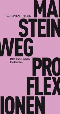Proflexionen - Steinweg, Marcus