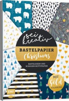 Sei kreativ! - Bastelpapier Christmas