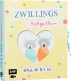 Zwillings-Babyalbum - Hurra, ihr seid da!