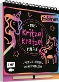 Mein Kritzel-Kratzel-Malbuch - Einhörner