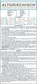 Altgriechisch - Kurzgrammatik des klassischen Griechischen. Die komplette Grammatik anschaulich und verständlich dargestellt