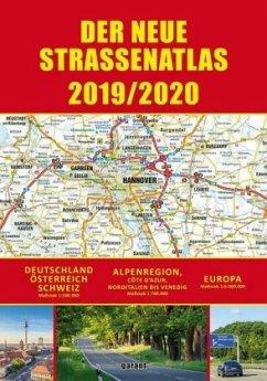 Straßenatlas 2019/2020 Deutschland/Europa