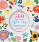 200 Embroidered Flowers (eBook, ePUB)