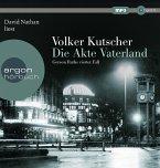 Die Akte Vaterland / Kommissar Gereon Rath Bd.4 (1 MP3-CD)