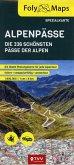 FolyMaps Alpenpässe Spezialkarte