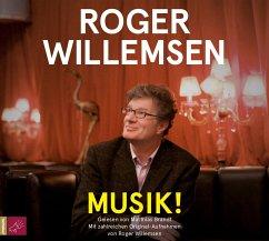 Musik!, 2 Audio-CDs - Willemsen, Roger