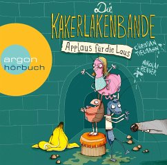 Applaus für die Laus / Die Kakerlakenbande Bd.1 (1 Audio-CD) - Tielmann, Christian